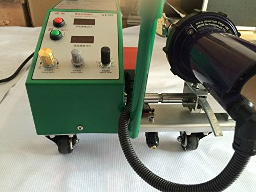 TOP-3400 Automatic Hot air Welder PVC Banner Welding Machine for PE Plastic Materials B0742B7G64