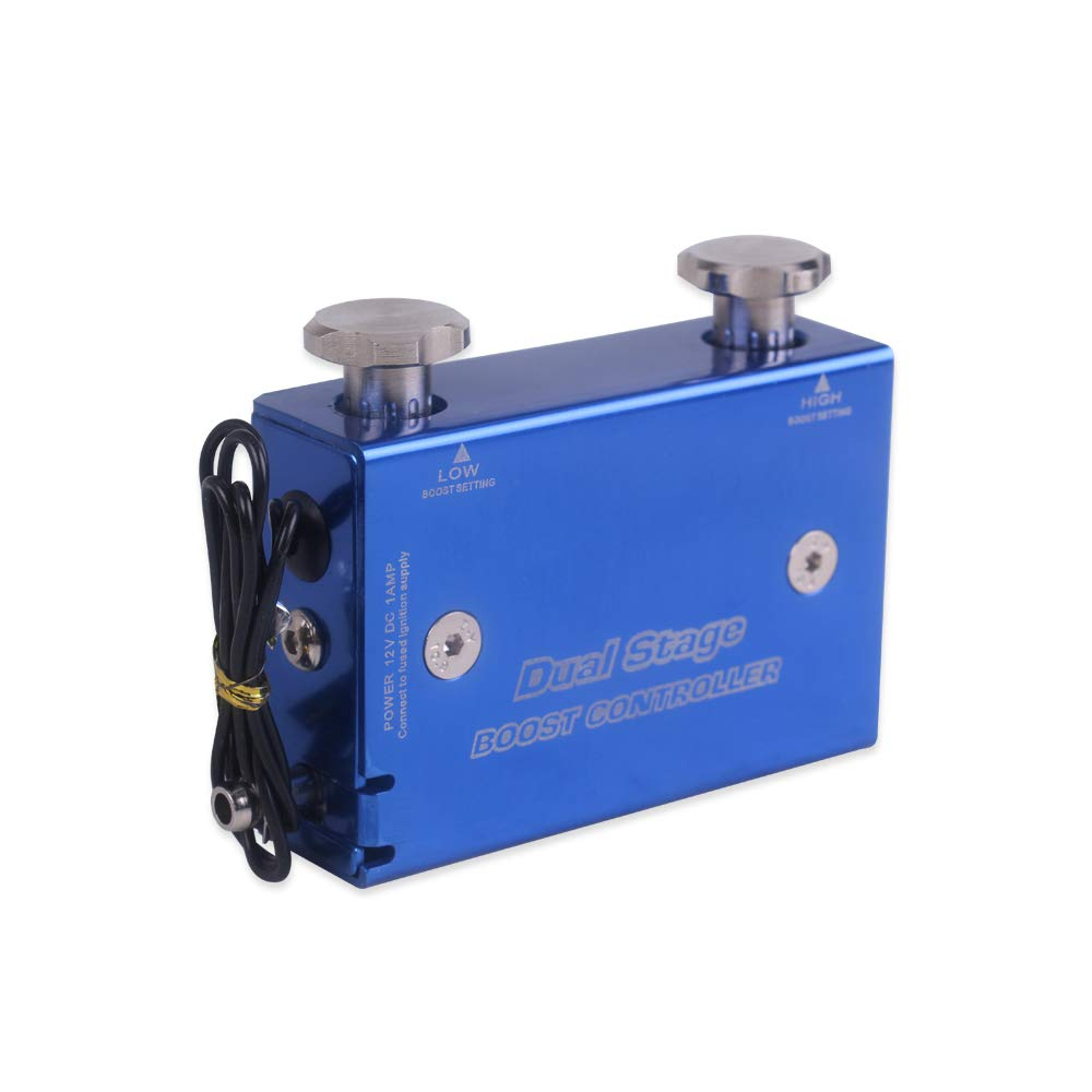 Tickas Electronic Boost Controller Zweistufiges elektronisches Turbo-Boost-Controller-Kit