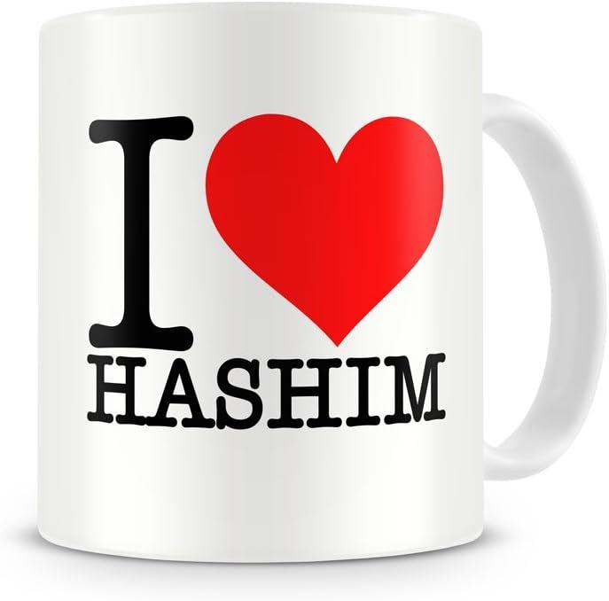 I Love Hashim Mug Name Identity Alias Boyfriend Girlfriend Amazon Co Uk Kitchen Home
