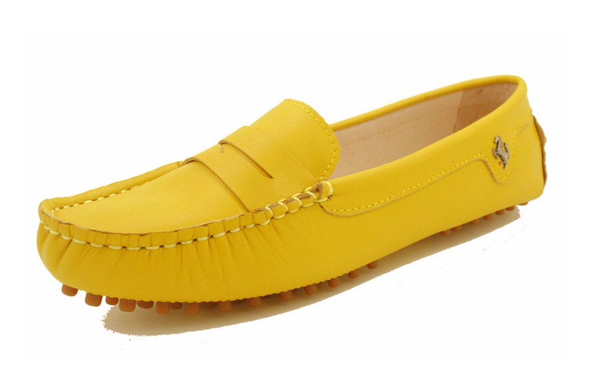 Minitoo , femme Bout fermé femme Bout Yellow-Nubuck Leather Leather 49109a7 - piero.space