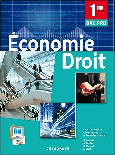 En ligne téléchargement Economie Droit 1e Bac Pro pdf epub