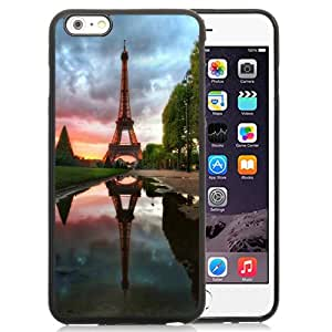 Eiffel Tower Reflection Silicone TPU iPhone 6plus 5.5 Inch Protective Phone Case