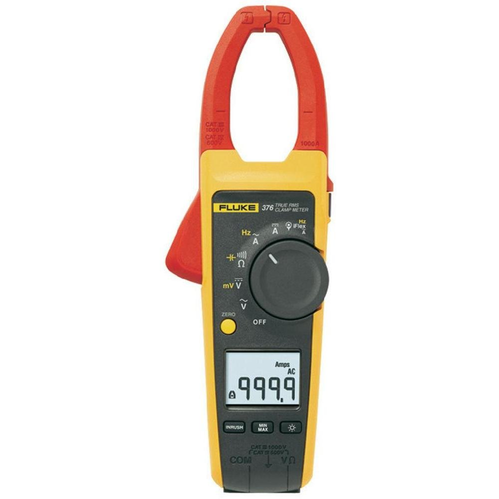 Fluke 376 True Rms Ac/Dc Clamp Meter With I Flex by Fluke