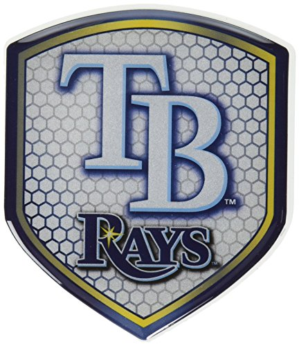 Team ProMark MLB Tampa Bay Rays Team Shield Automobile (Mlb Team Decal)