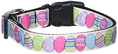 Image of Mirage Pet Products Easter Egg Nylon Dog Collar, Large