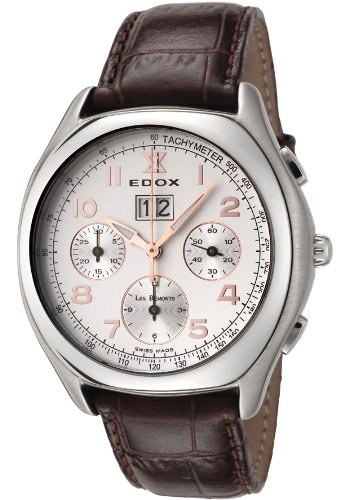 Edox Les Bémonts Chronograph Big - Date Automatic relojes hombre 45001-3-AAD