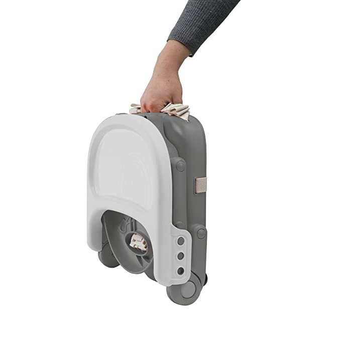 Chicco Pocket Snack - Elevador regulable en 3 alturas, 2 kg, color gris