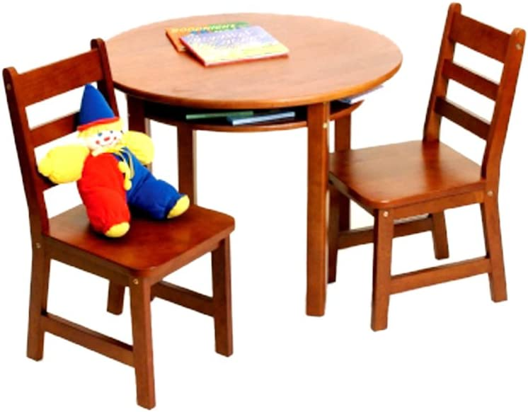 Lipper Childrens Round Table and Chair Set  sc 1 st  Amazon.com & Kidsu0027 Table u0026 Chair Sets | Amazon.com