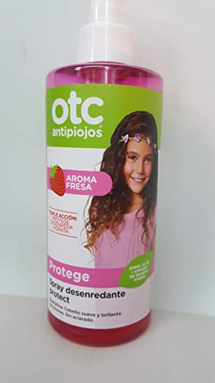 Otc Antipiojos Spray Desenredante Protect 250ml Aroma Fresa