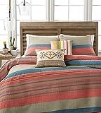 MARTHA STEWART - Western Horizon Beige Multi Color Twin Quilt