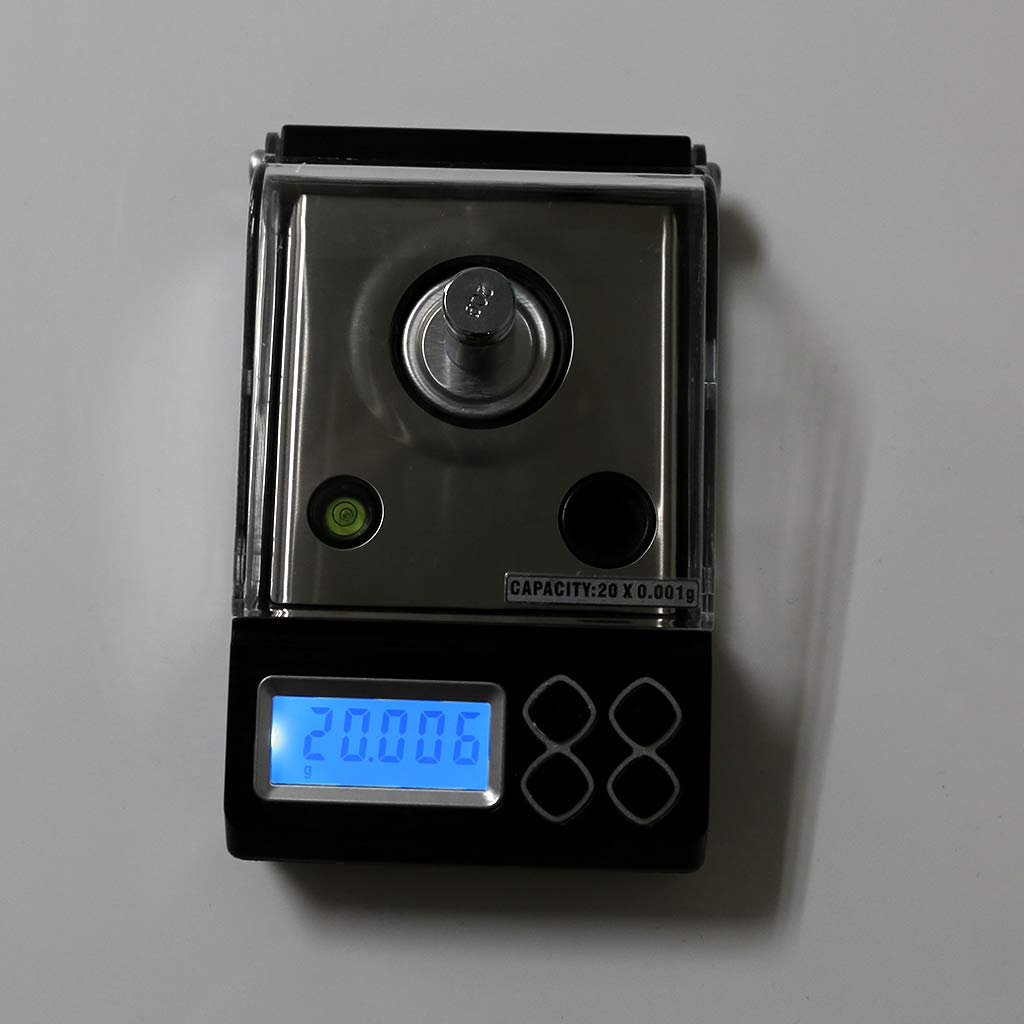 BINGHONG3 Bingongong3 0,001 g Digitale Z/ählwaage 20 g 50 g 0,001 g Pr/äzisionswaage Tragbare Elektronische Schmuckwaage Goldkeime Medizinische Waage 20g
