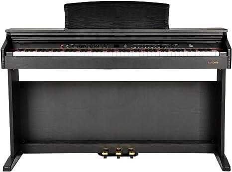 yankai Piano Eléctrico Digital con Teclado Piano Eléctrico ...