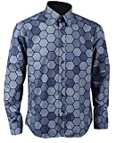 S&S-Men Mens Hexagon Shirt Knight Joker Shirt Cosplay Costume