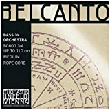 Thomastik Belcanto Bass String Set - 3/4 (full) size - Medium Gauge