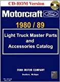 1980/89 Ford Light Truck Master Parts and Accessory Catalog