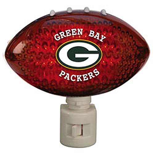 (NFL Acrylic Football Night Light NFL Team: Green Bay Packers)