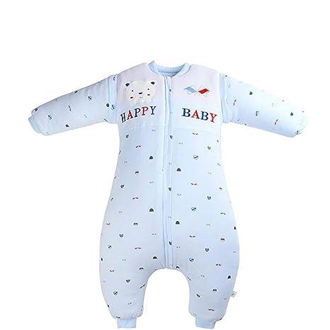 CWLLWC Saco de Dormir para bebé,Algodón con Cubierta de pie para Hombres y Mujeres