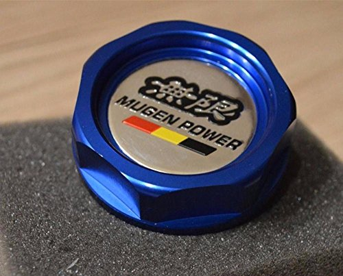 Mugen 2015 Hot for Honda for Civic Integra Type R EP2 EP3 EJ9 EK9 FN2 DC5 DC2 CRX-Oil Cap Blue