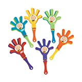 12 CAILLOU mini hand clappers birthday party favors PBS