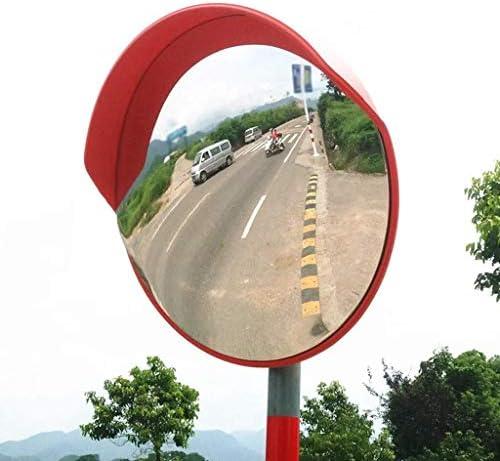 Geng カーブミラー 凸広角レンズ、60センチメートル、交差点を入れるのに適した多機能ポータブル耐候性トラフィックブラインドスポットミラー、