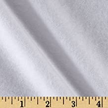 Organic Cotton Sweatshirt Fleece Optic White Fabric By The Yard