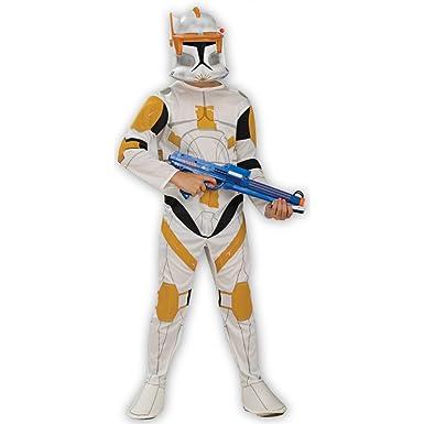 Amazon.com: Clone Trooper Commander Cody niño disfraz ...