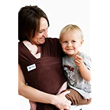 Sleepy Wrap Classic Wrap Baby Carrier, Brown, 0-18 Months