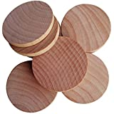 AxeSickle 1.5 inches Natural Schima superba unfinished round wood,These round wood coins The limitations are endless!(50-pcs)