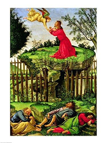 Sandro Botticelli - The Agony in the Garden c.1500 Fine Art Print ...