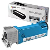 LD © Compatible Dell KU053 (310-9060) High Yield Cyan Toner Cartridge for Dell 1320c Color Laser Printer