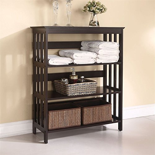 Review ACME Furniture 92100 Opeli Shelf Rack, Espresso By Acme Furniture by Acme Furniture