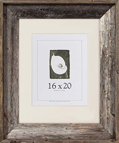 16x20 Picture Frames - Barnwood Frames - Barnwood Signature Series (3 5/8