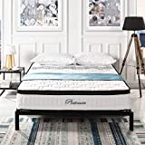 Swiss Ortho Sleep Hybrid High Density Memory Foam and Spring Mattress [2019 Model] 11' Inch Quilted Individually Wrapped Pocketed Encased Coil Pocket Spring Contour, Plush Pillow Top Mattress (Full)