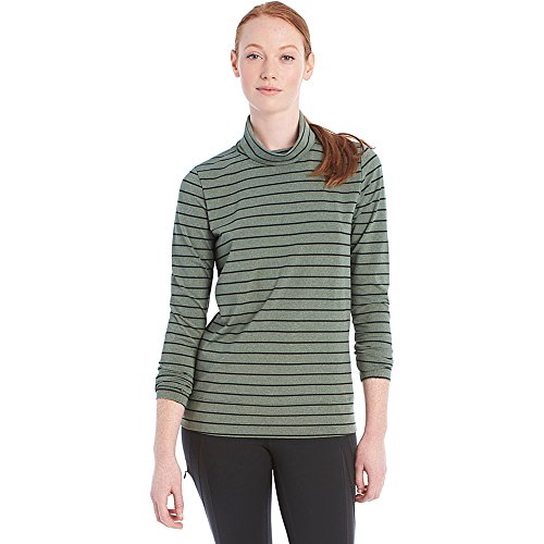 Lole Gloria Top (M - Green Stripe)