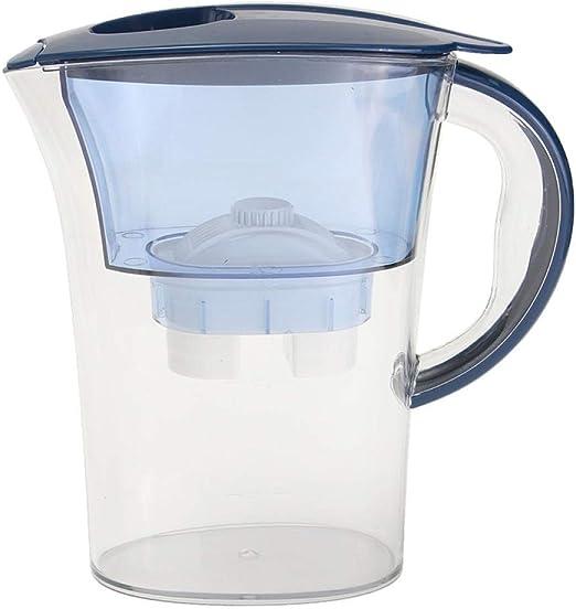 Purificador de agua de 2,5 l, filtro alcalino de iones de agua mineral saludable para uso doméstico: Amazon.es: Hogar
