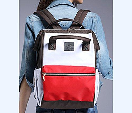 Bolso de la momia, morral multi-funcional de gran capacidad del hombro, hacia fuera bolso, bolso, bolso de la madre de la manera, bolso del bebé de la madre ( Color : #8 ) #10