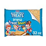 Kellogg's Rice Krispies Original Marshmallow Treats - Pre-Made Party-Size Treat Sheet, 12 INx15 IN Sheet