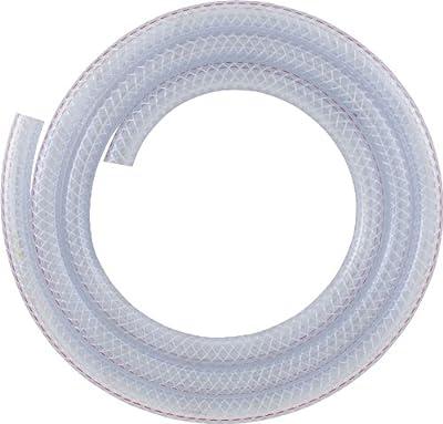 LDR 516 B1210 Braided Nylon Tubing, 1/2-Inch ID x 10-Foot, Clear