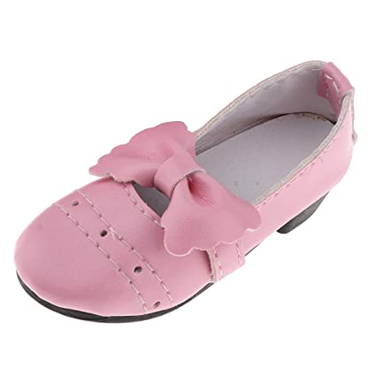 Sharplace Bowknot Zapatos Tacones 13 Accesorios Altos Non Bjd De 45RAjL