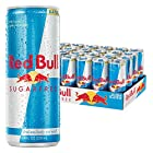 RED BULL SUGARFREE. NO SUGAR. 100% WIIINGS. Red Bull Sugarfree is a carbonated  beverage that Vitalizes Body and Mind without sugar and only 5 calories per 8.4-Fluid ounce can.  WHEN TO DRINKRed Bull is one of the best energy drinks to have b...