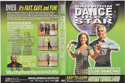 2step dance lessons & instruction on video (dvd).