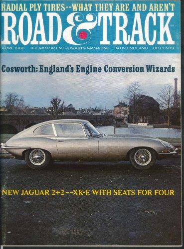 ROAD & TRACK Aston Martin DB6 Gresley A3 Pacific road tests Jaguar XK-E + 4 1966