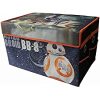 Star Wars BB8 Mini Kids Collapsible Space Saver Organizer Storage Trunk, Ideal for Storing Toys, Books, Games, Clothes and More! Great Gift For Kids