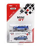 Honda Civic Type R Left-hand Drive Aegean Blue Limited Edition to 6,000 pieces 1/64 Diecast Model Car by True Scale Miniatures MGT00002