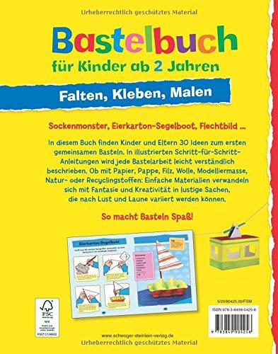 Bastelbuch Für Kinder Ab 2 Jahren Falten Kleben Malen Amazonde