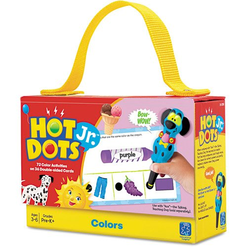 Educational Insights Hot Dots Jr. Cards - (Learning Resources Hot Dots)
