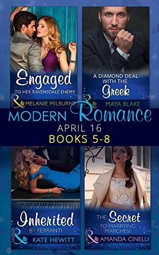 book cover of Modern Romance April 2016 Books 5-8