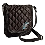 Florida Marlins Licensed Quilted Purse Handbag