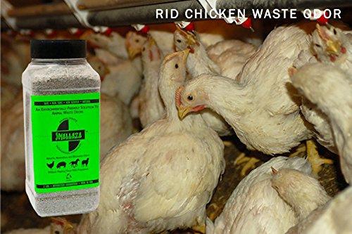 SMELLEZE Natural Animal Waste Odor Removal Deodorizer: 50 lb. Granules Rid Feces & Urine Stench 3