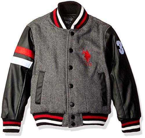 US Polo Association Big Boys' Fashion Outerwear Jacket, H...